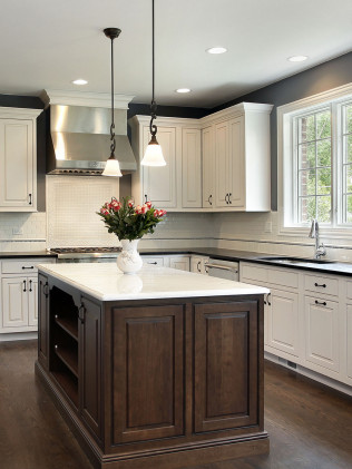 Custom Kitchen Counters - Stone Countertops - Littlerock, CA